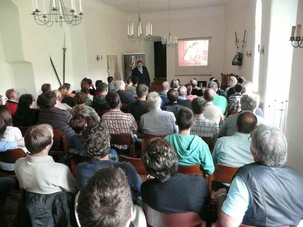 Vortrag von Werner Gruber 2014: Die Reise der Voyager
