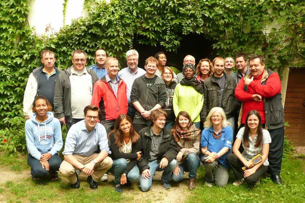 Gruppenfoto Burggespräche 2014