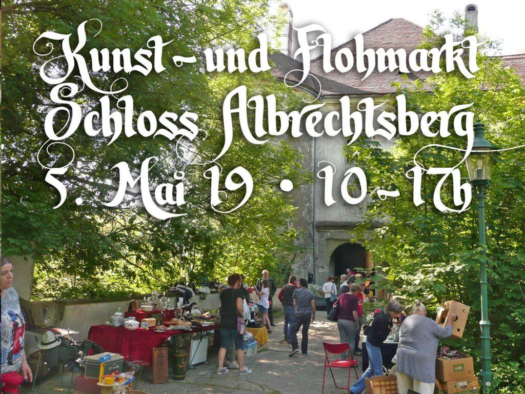 Flohmarkt auf Schloss Albrechtsberg