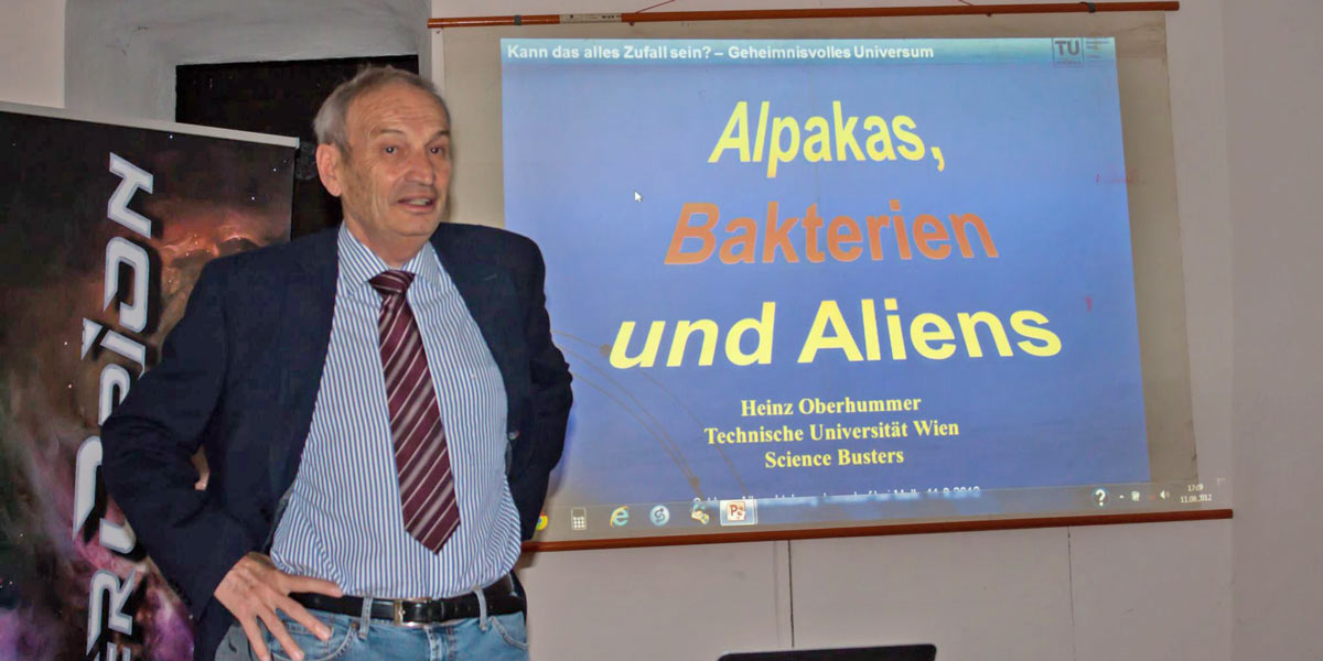 11. August: Aliens auf Albrechtsberg